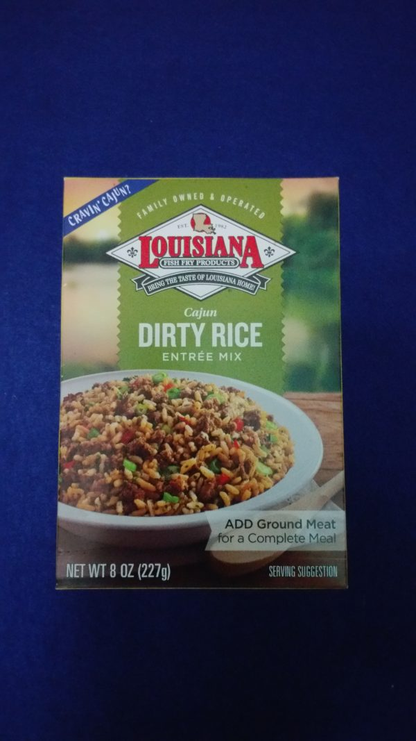 Dirty Rice LA Fish Fry