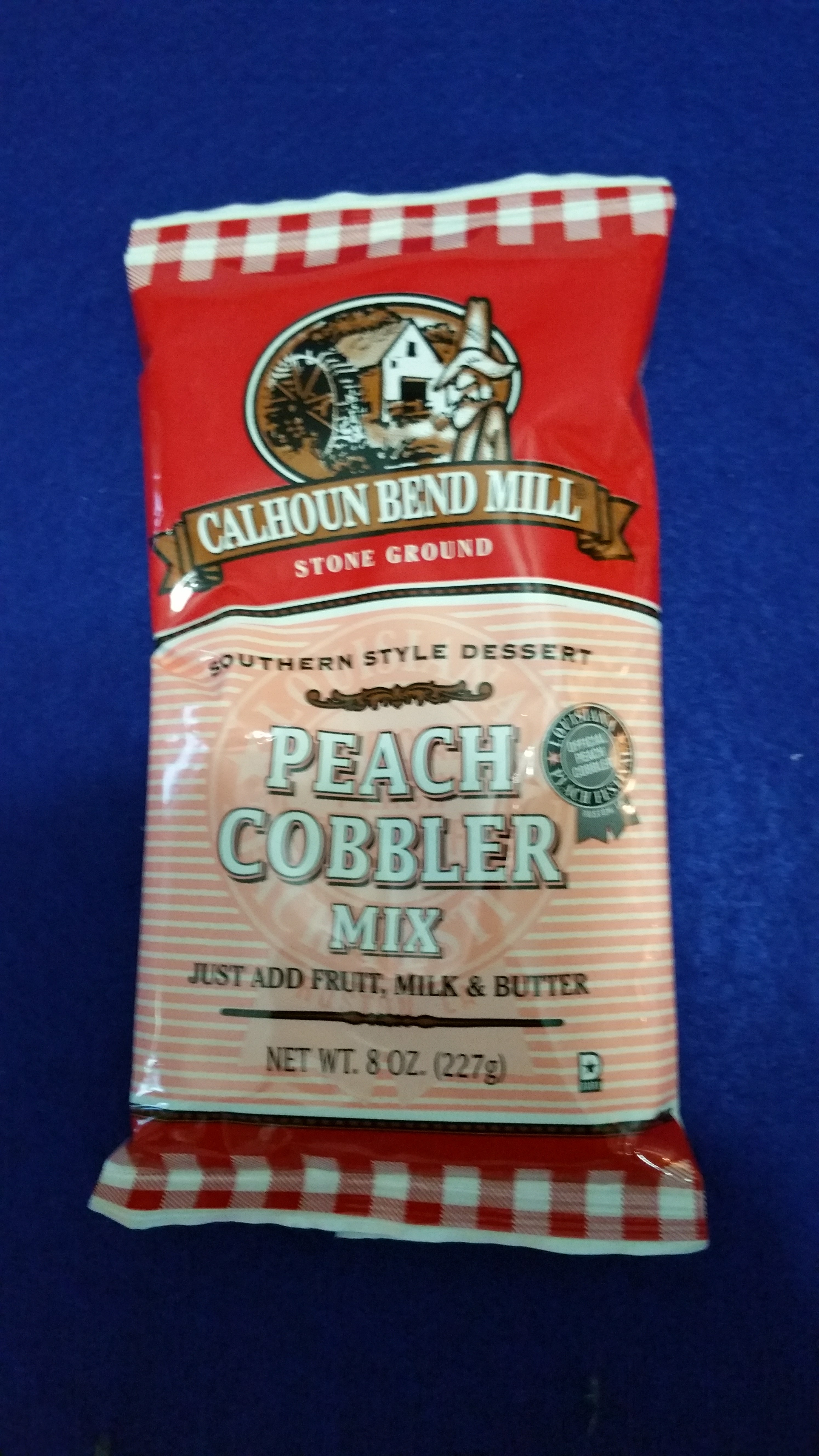 Peach Cobbler Mix - Calhoun Bend Mill
