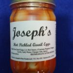 Hot Pickled Quail Eggs - Joseph's