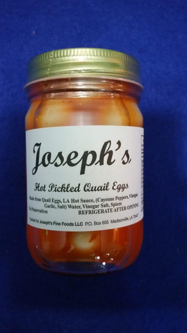 Hot Pickled Quail Eggs - Joseph's