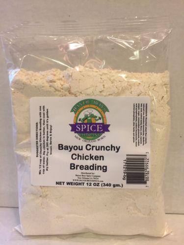 Bayou Boys Creole Crunchy Chicken Breading